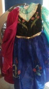 Size 6 handmade Elsa costume with cape